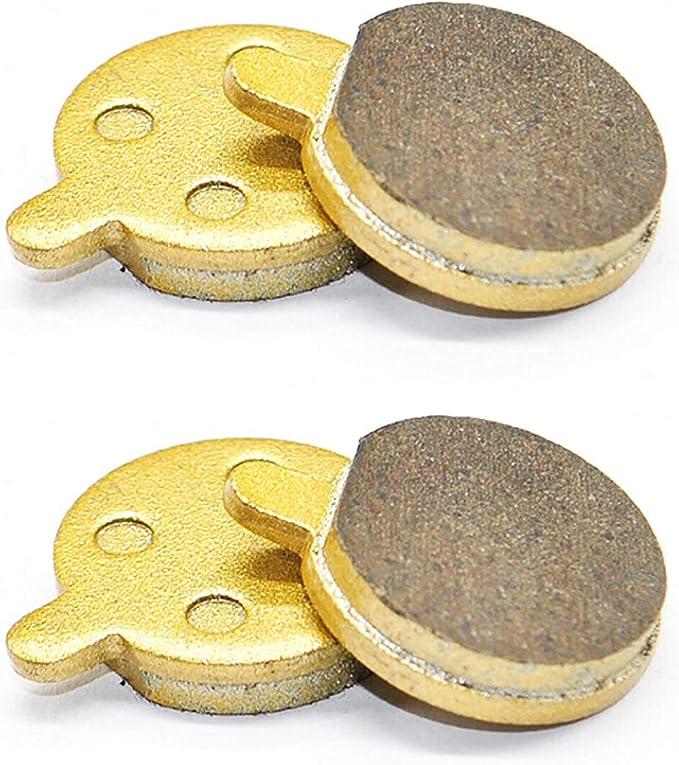 Yungeln Pastiglie per Freni a Disco Pastiglie per Freni per Scooter compatibili con Scooter Elettrico Xiaomi M365 1S PRO - 4 Pezzi