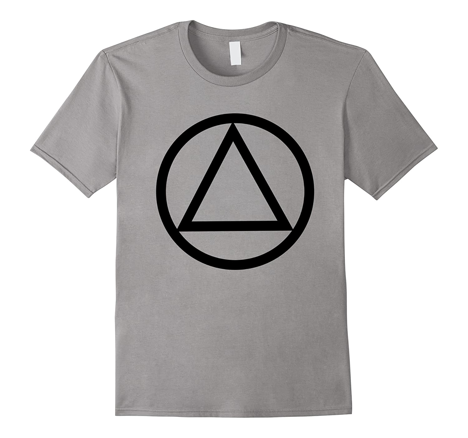 AA Triangle Symbol Classic Simple Logo T-Shirt-4LVS