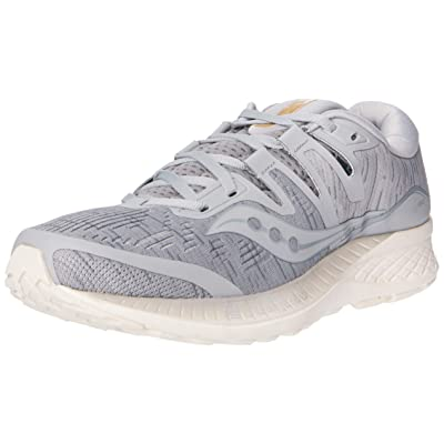 Saucony Men's Ride ISO Running Shoe, Grey Shade, 10 M US: Saucony: Sports & Outdoors