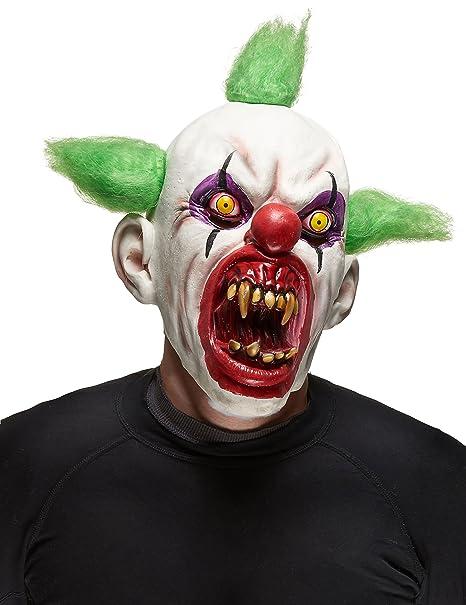 Halloween Maschere.Maschera Da Clown Halloween Adulto Amazon It Giochi E Giocattoli