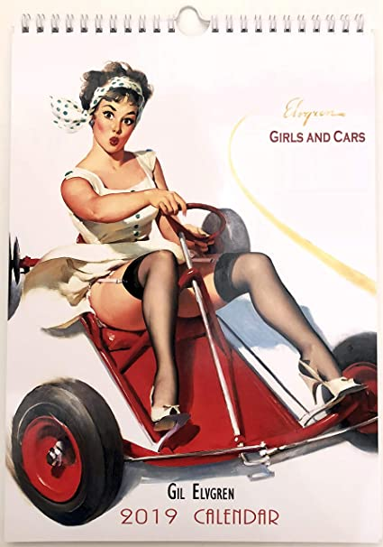 Suggest pin up girl calendars