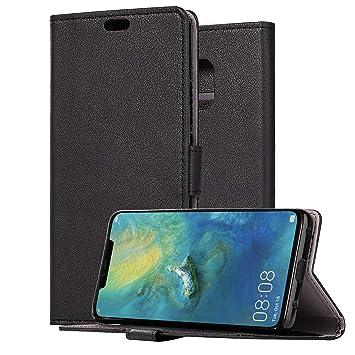 HDRUN Funda Huawei Mate 20 Pro- Prima Ultra Delgado Carcasa Libro ...