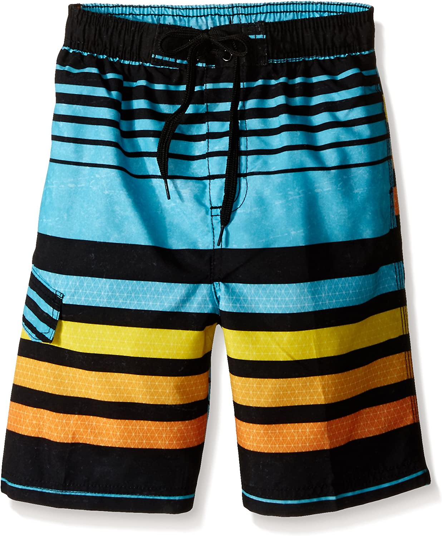 Echo Aqua Kanu Surf Boys Little Quick Dry UPF 50+ Beach Swim Trunk Medium 5//6