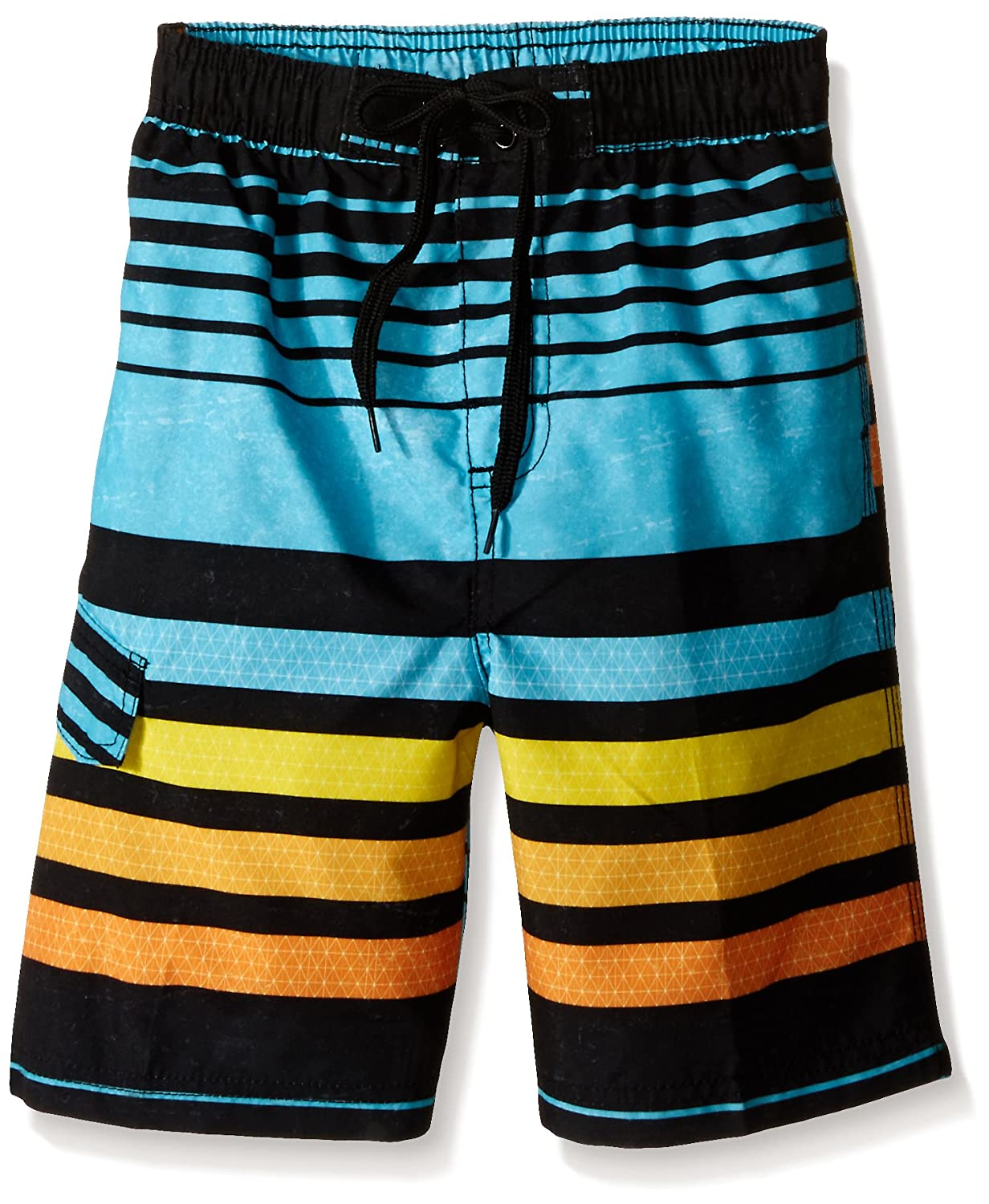 Kanu Surf Boys' Echo Stripe Swim Trunk 3433