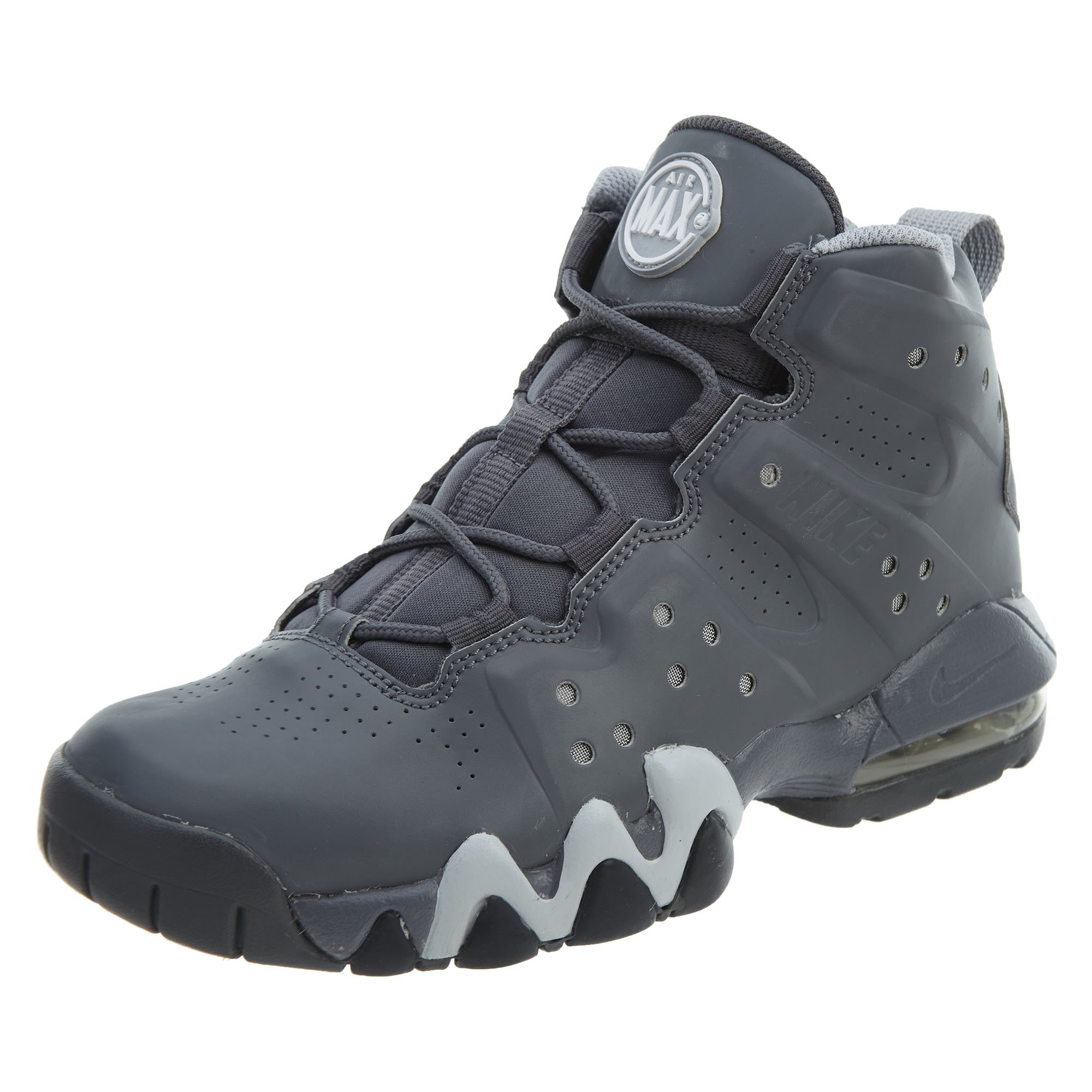 sports shoes 78409 ae4a8 Galleon - NIKE Air Max Barkley (GS) Boys Basketball Shoes 488245-002 Dark  Grey 5 M US