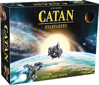 CATAN Starfarers - English: Amazon.es: Juguetes y juegos