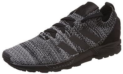 size 40 7248b dc8f8 adidas Originals Men s Zx Flux Pk Cblack Cblack Ftwwht Leather Sneakers - 8  UK