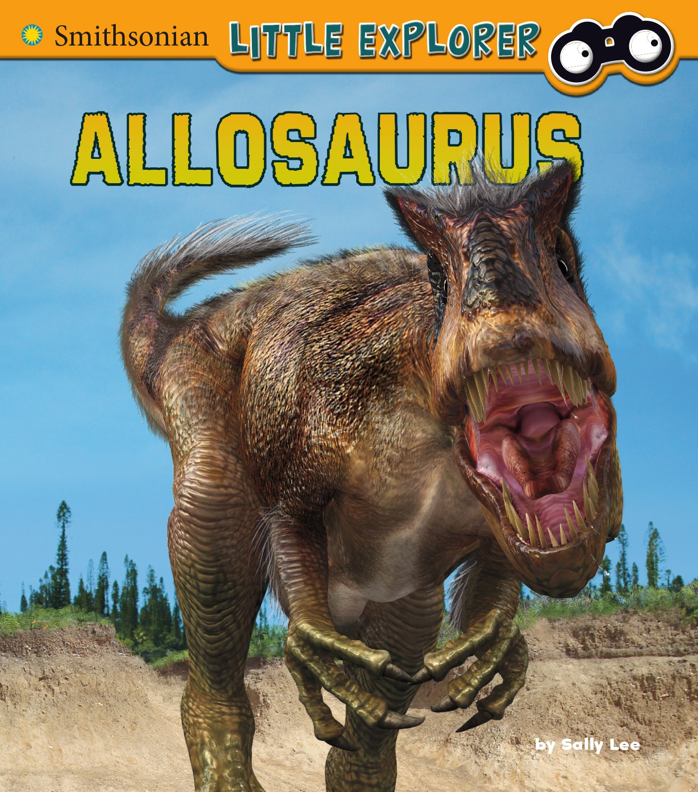 Image result for allosaurus book by sally lee