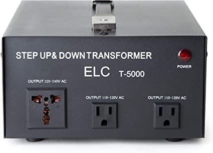Down Electrical Power Voltage Converter Transformer US Ship 2000 Watt Step Up