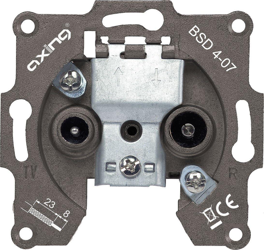 Axing Bsd 4 07 Durchgangsdose Mit 7 Db Elektronik
