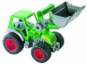Wader traktor mit frontlader amazon spielzeug