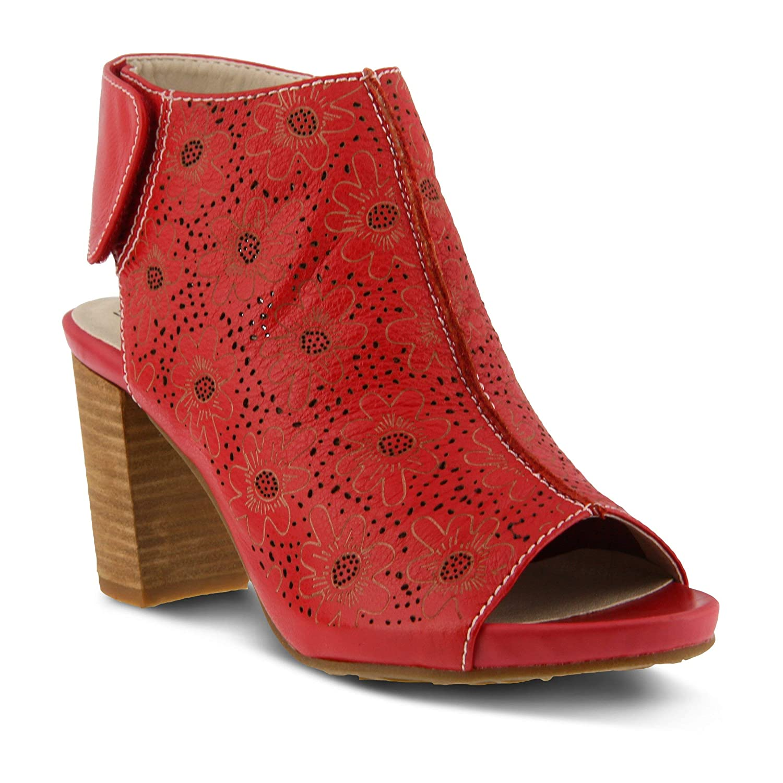 LArtiste by Spring Step Womens Fab Heeled Sandal