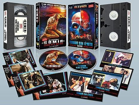 Gomia, Terror en el Mar Egeo BD + Terror sin Límite BD estuche VHS con 8 Postales en Edición Limitada Numerada de 1000 ejemplares Blu-ray: Amazon.es: Tisa Farrow, Saverio Vallone, Serena Grandi,