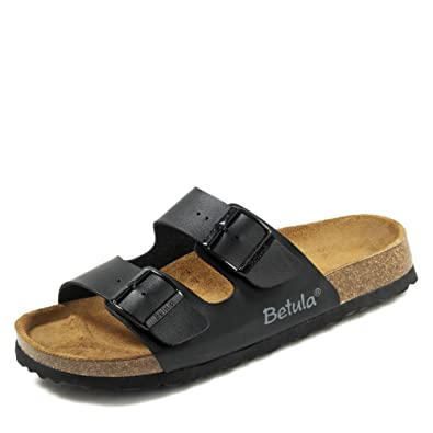 a2857647f Betula   2-Strap   from Birko-Flor in Black 37.0 EU N  Amazon.co.uk  Shoes    Bags