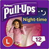 Huggies Pull-Ups Night Time Large Potty Training Pants for Girls
