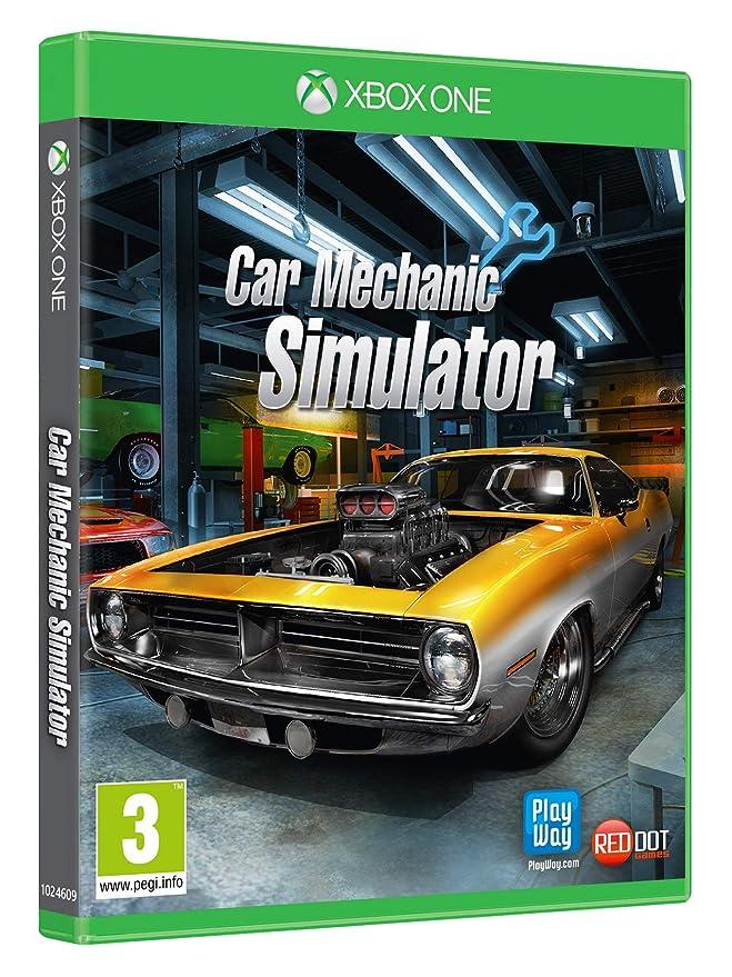 Car Mechanic Simulator Xbox One Amazon Co Uk Pc Video Games
