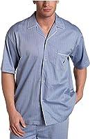 Nautica Men's Captains Woven Short-Sleeve Pajama Top