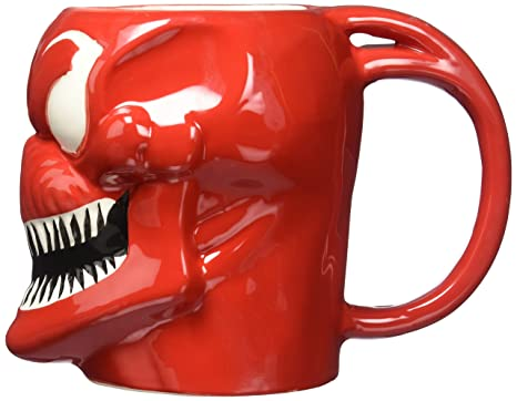 Mugs 16oz Carnage Marvel Molded Venomcarnage Licensed Thor Spiderman Superhero Officially rBWCoexd