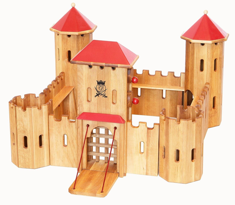 Drewart Ritterburg - große Drewart Ritterburg aus Holz