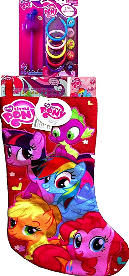 My Little Pony Christmas.My Little Pony Christmas Stocking Stuffers With Goodies To Stuff