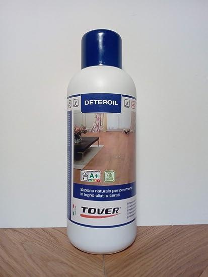 Pulizia Parquet A Olio.Deteroil Bianco Lt 1 Sapone Naturale Indicato Per La Pulizia Frequente Dei Parquet Oliati Con Olio Bianco