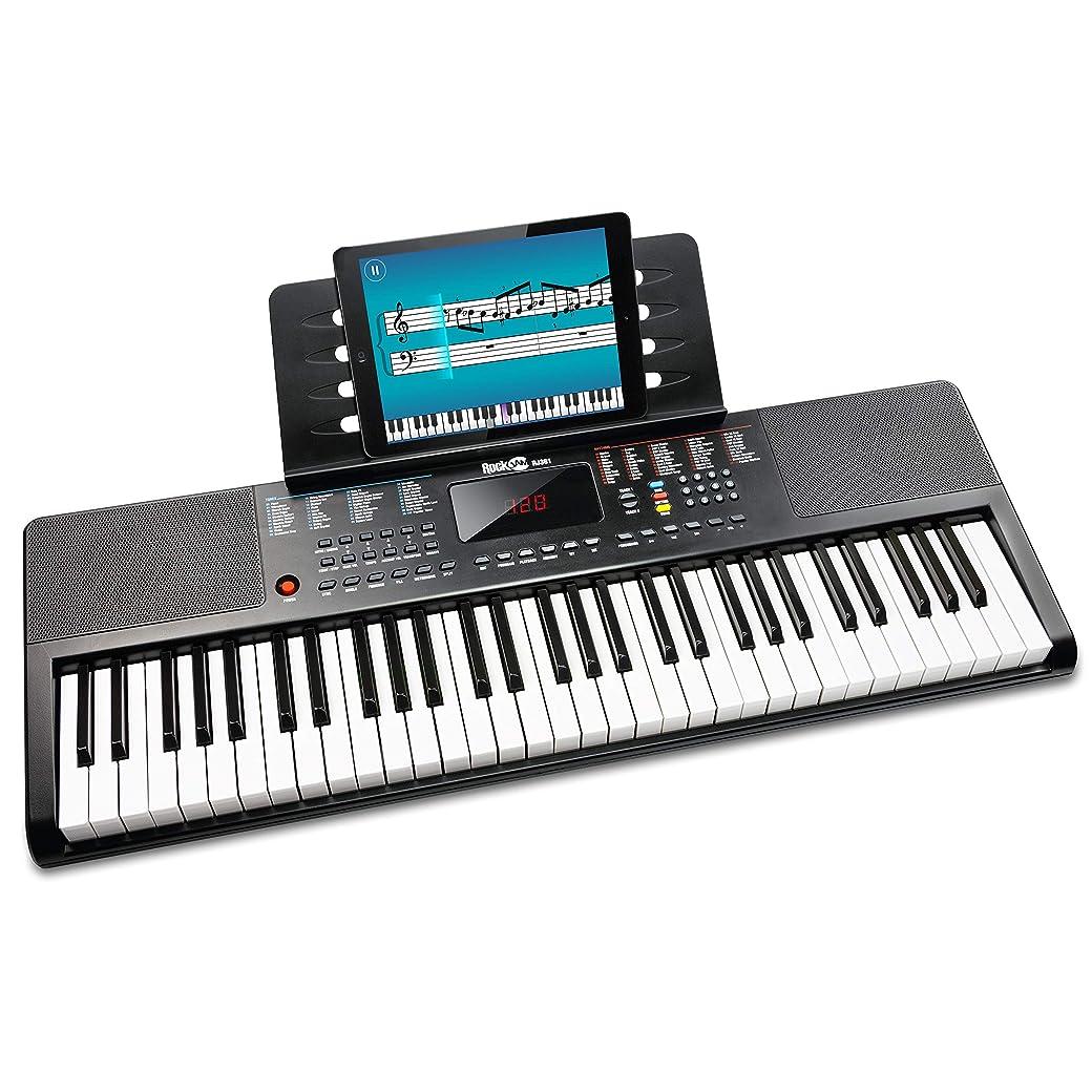 RockJam Teclado Electrónico Portátil RJ361 de 61 Teclas - El Mejor Pianos Digitales y Teclados del Mercado