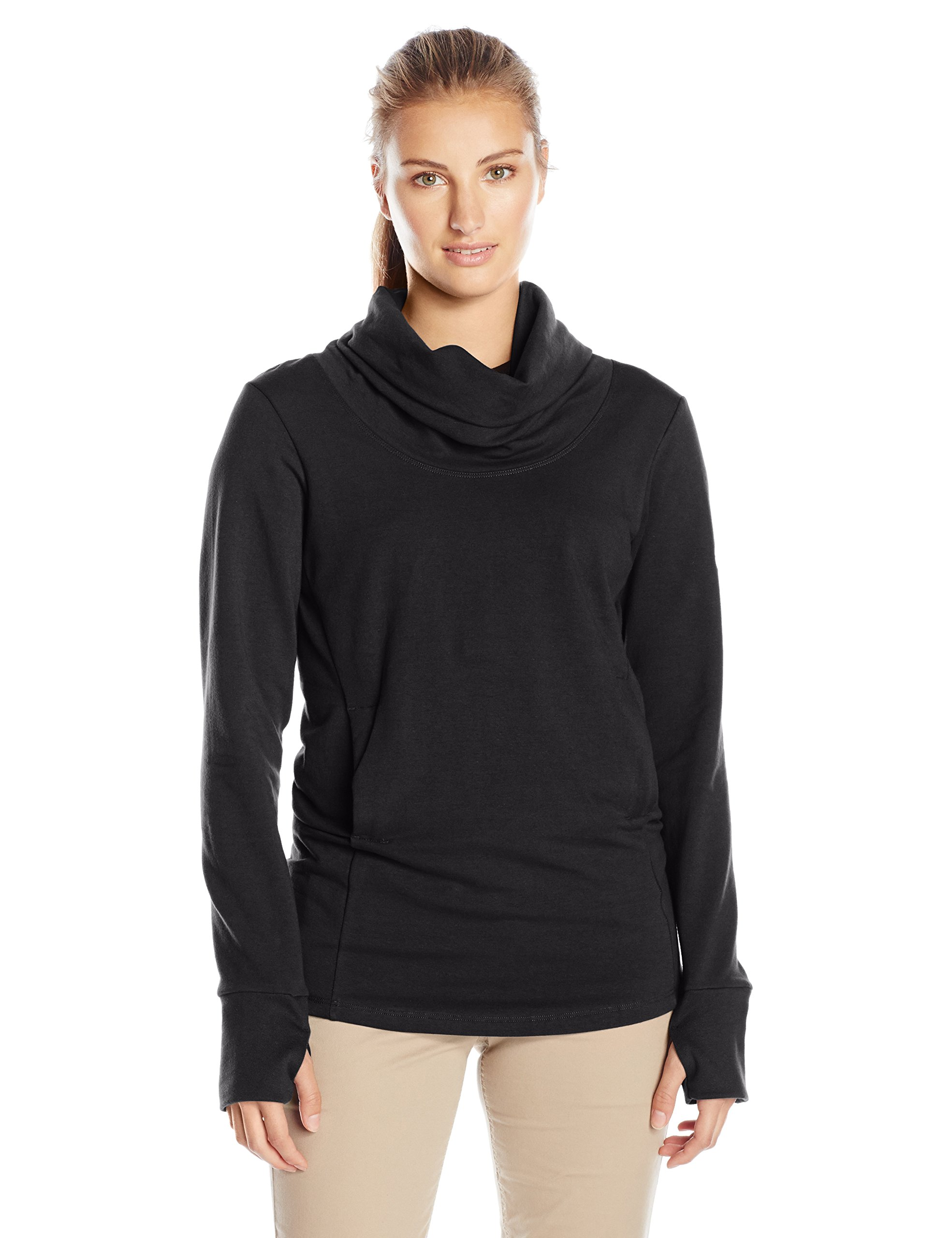 FIG Women's BRU Sweater, Medium, Black