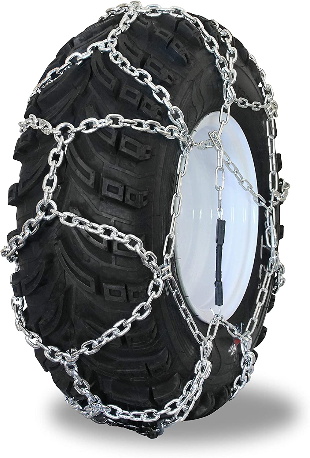 Grizzlar GTN-533 Garden Tractor/Snowblower Net/Diamond Style Alloy Tire Chains 16x7.50-8