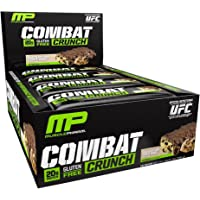 MusclePharm 20g Multi-Layered Baked Chocolate Chip Cookie Dough Combat Crunch Protein Bar