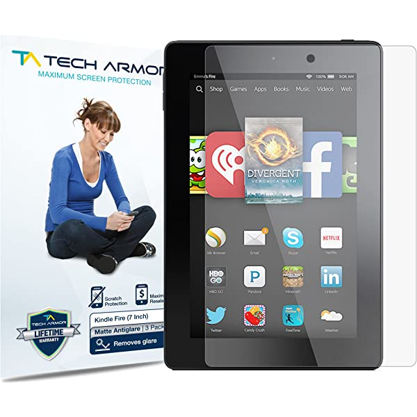 Amazon Fire Kids Edition 7 Inch 2015 Tempered Glass Screen Protector Guard Film