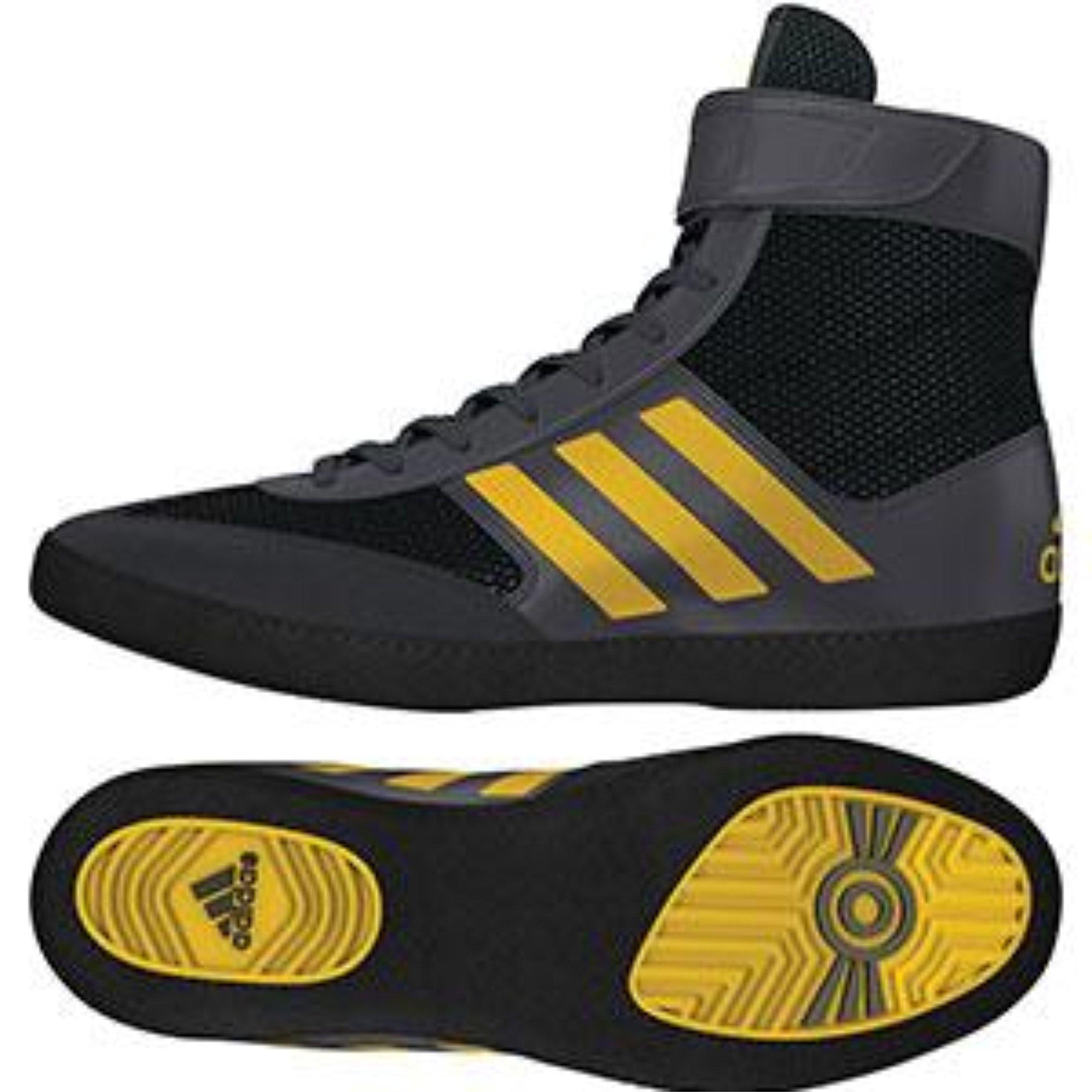 adidas Performance Men's Combat Speed.5, Grey/Eqt Yellow/Utility Black, 10 M US by adidas