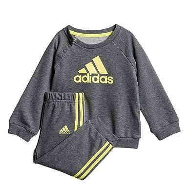 adidas Crew Jogger Chándal, Unisex Infantil: Amazon.es: Ropa y ...