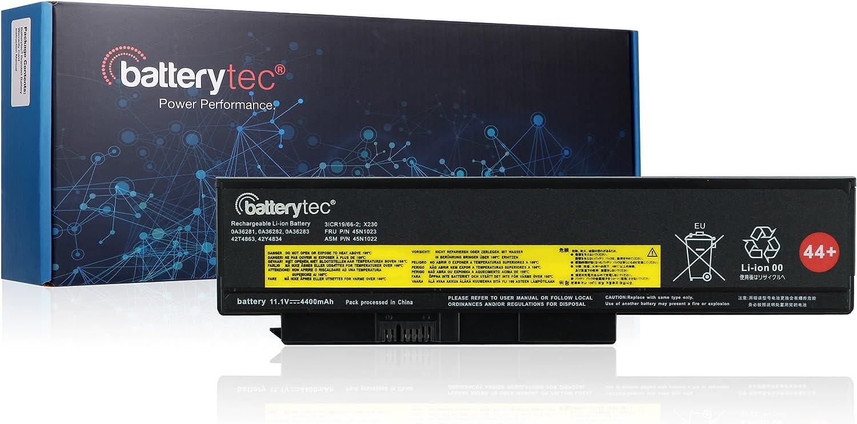 Batterytec Laptop Battery for Lenovo ThinkPad X220 X220i X220s X230 Series, 0A36281 0A36282 0A36283 42T4863 42Y4864 42T4867 42Y4868 42T4873 42Y4874 42T4901 42T4902 42Y4940.