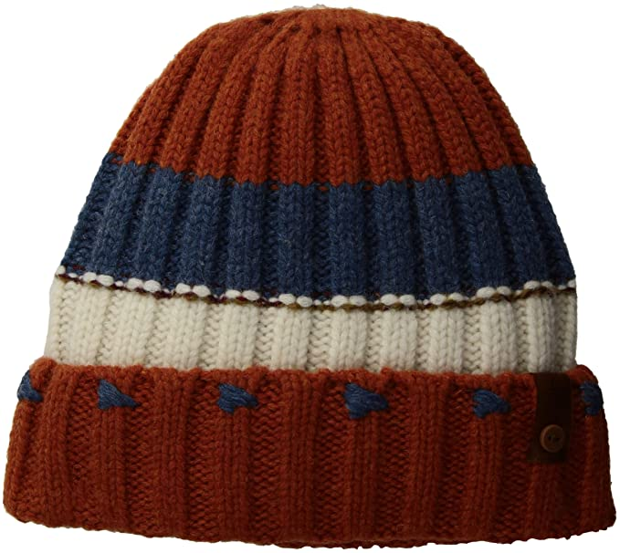 228d7191b Amazon.com: prAna Unisex Lexington Beanie, Burnt Caramel, One Size ...