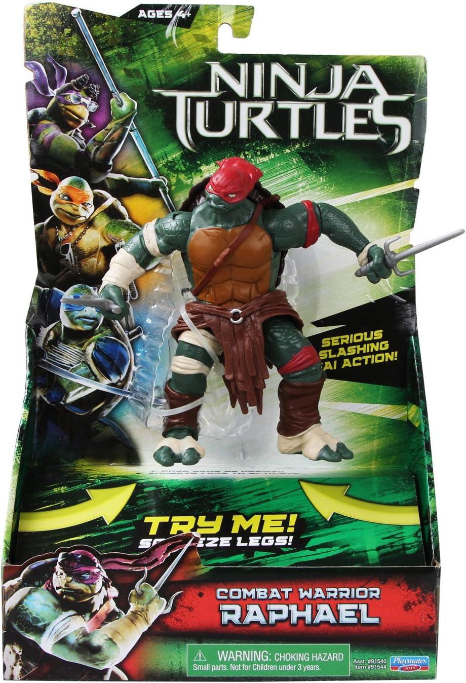 Teenage Mutant Ninja Turtles Movie Deluxe Raphael Figure