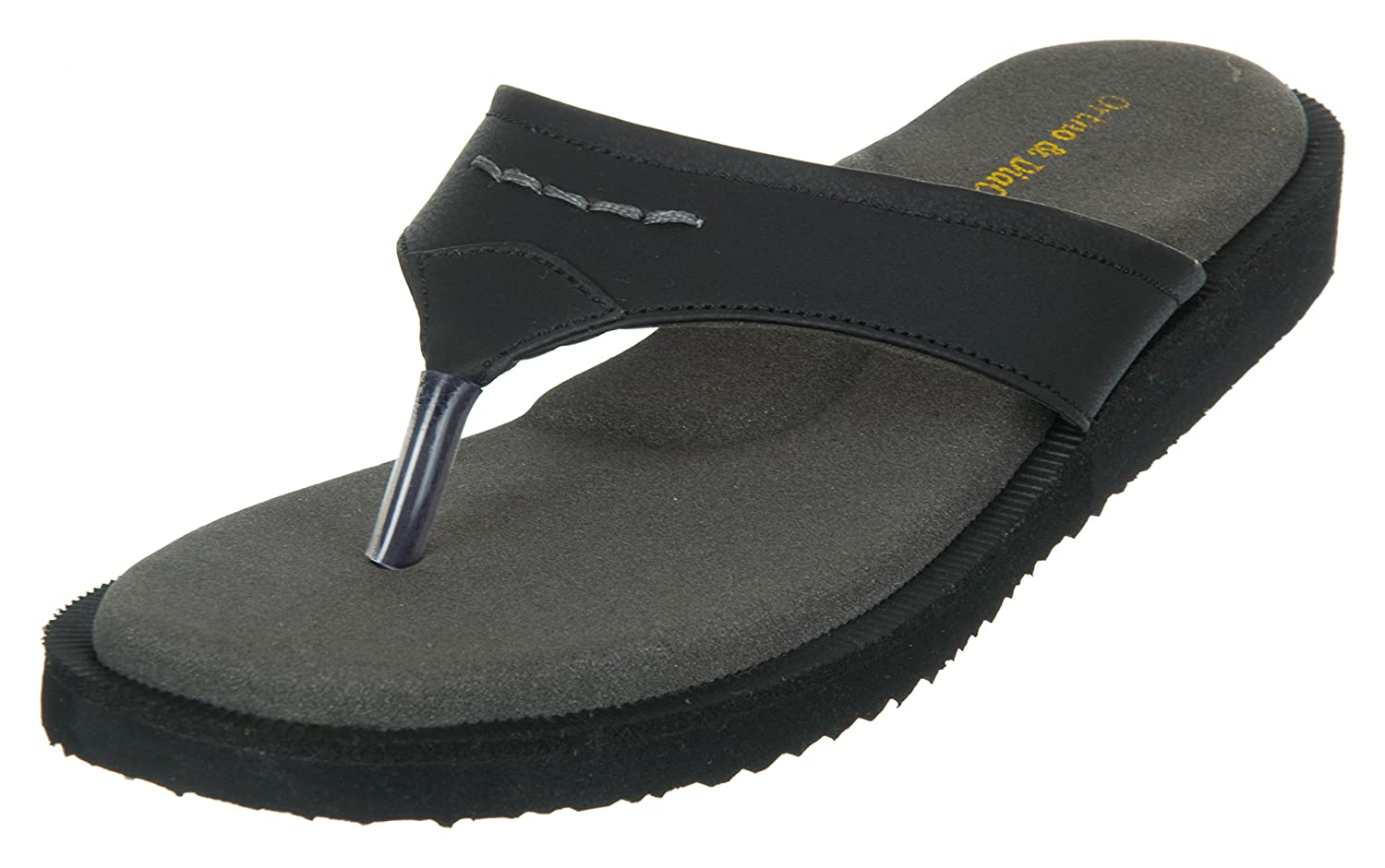 1058772f5574 Medifoot Women s Diabetic   Orthopedic Care Casual Black Slippers Footwear Chappal   Buy Online at Low Prices in India - Amazon.in