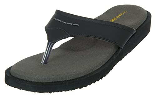 Medifoot Women's Diabetic & Orthopedic Care Casual Black Slippers/Footwear/Chappal Women's Flip-Flops & Slippers at amazon