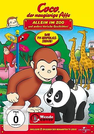 Coco Der Neugierige Affe Allein Im Zoo Und Andere Tierische