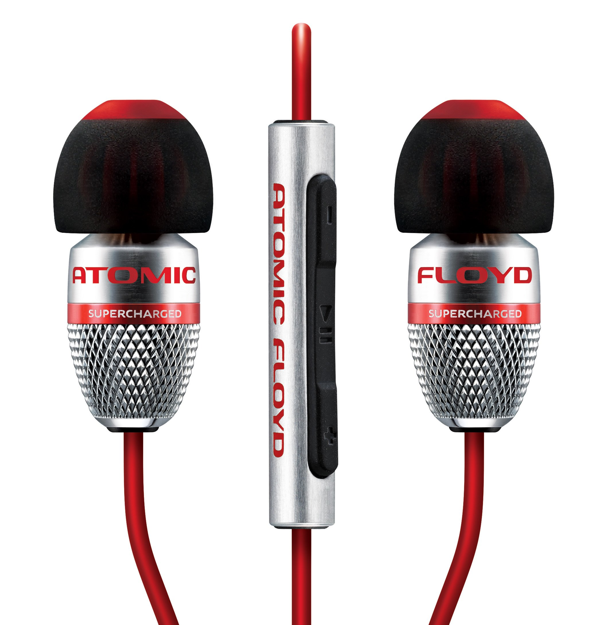 Atomic Floyd SuperDarts +Remote Noise Isolating Hi-Res In-Ear Headphone