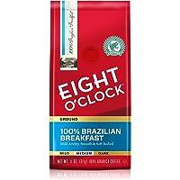 Eight O'Clock Ground Coffee, 100% Brazilian Breakfast, 11 Ounce