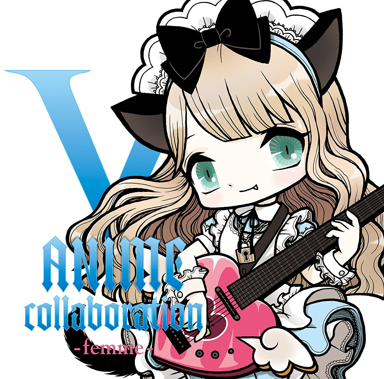 Various v a v anime collaboration femme japan cd tkca 74059 amazon com music