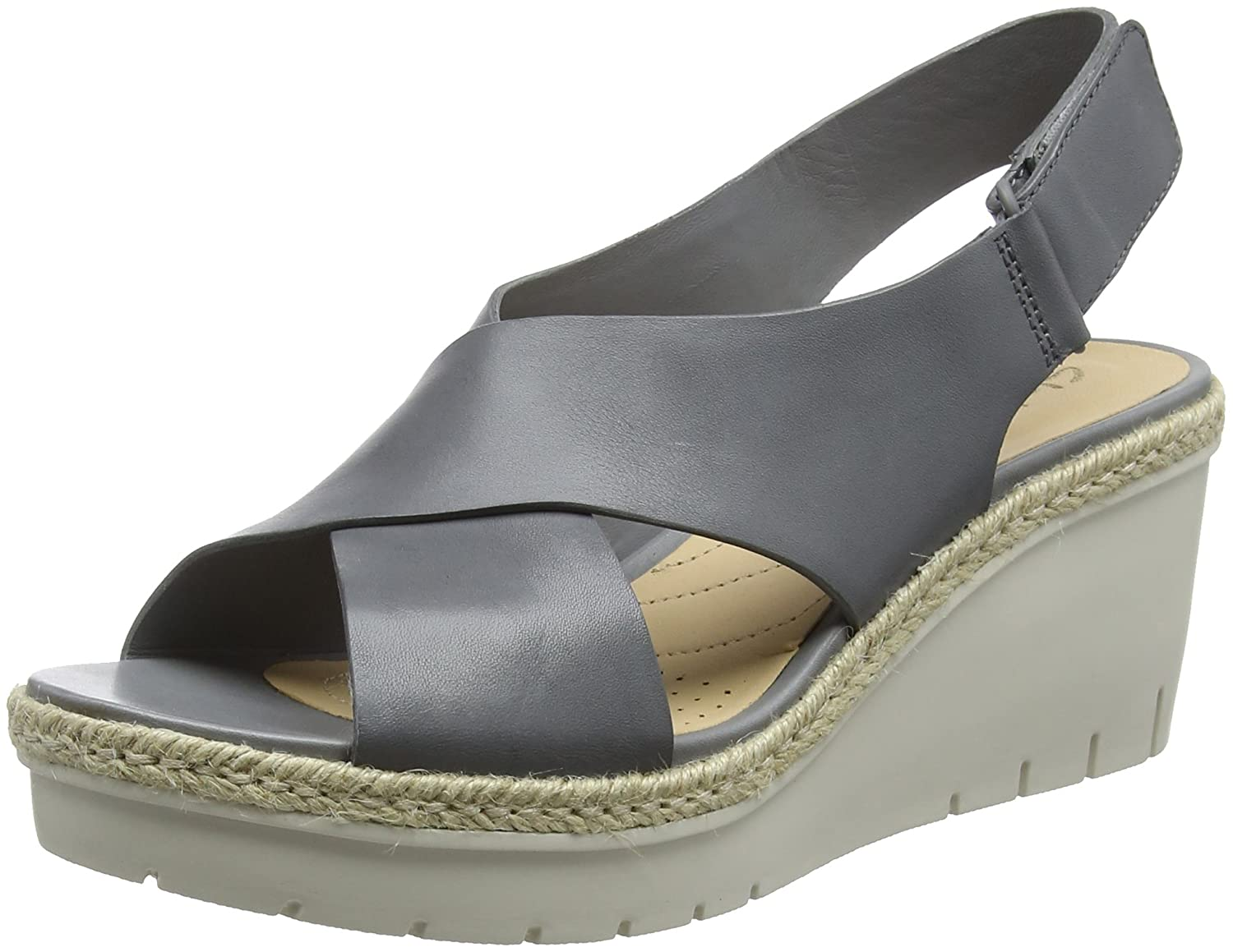 Clarks Palm Glow, Palm B000LSXRV0 Sandales Leather) Bride Cheville Femme Gris (Grey Leather) 9939dcf - latesttechnology.space