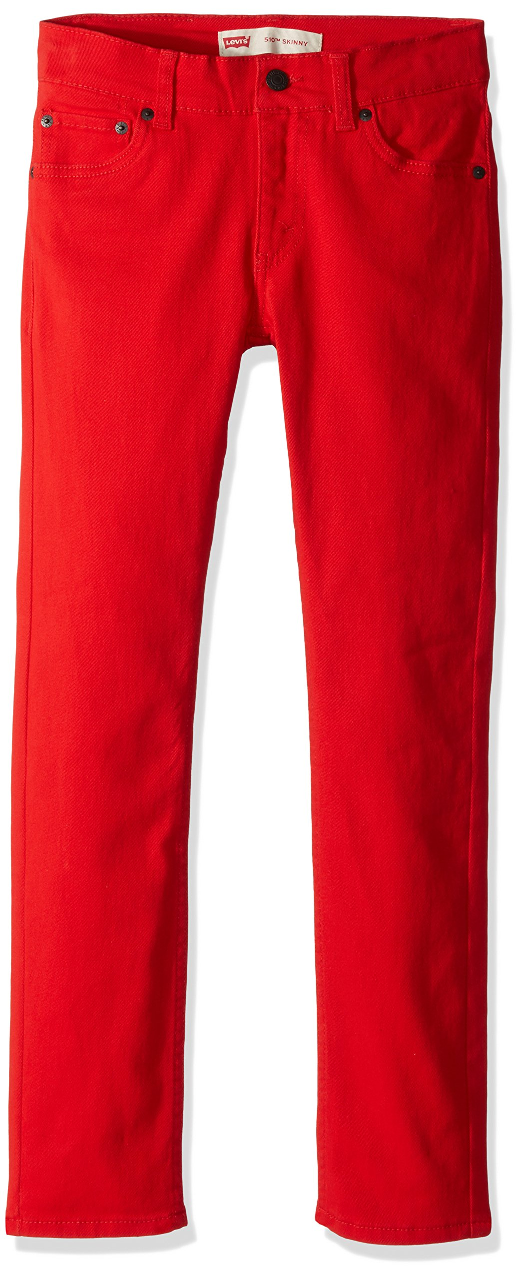 Levi's Boys 510 Skinny Fit Jeans, Chinese red 18