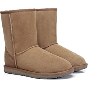 UGG Boots Australia Premium Double Face Sheepskin Unisex Short Classic,Water Resistant #15801
