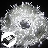 Amazon Price History for:Excelvan Safe Low Voltage 8 Modes 500 LEDs 100m/328ft Dimmable Fairy String Lights with Transparent String for Bedroom Patio Garden Gate Yard Party Wedding Christmas Decoration, Cool White
