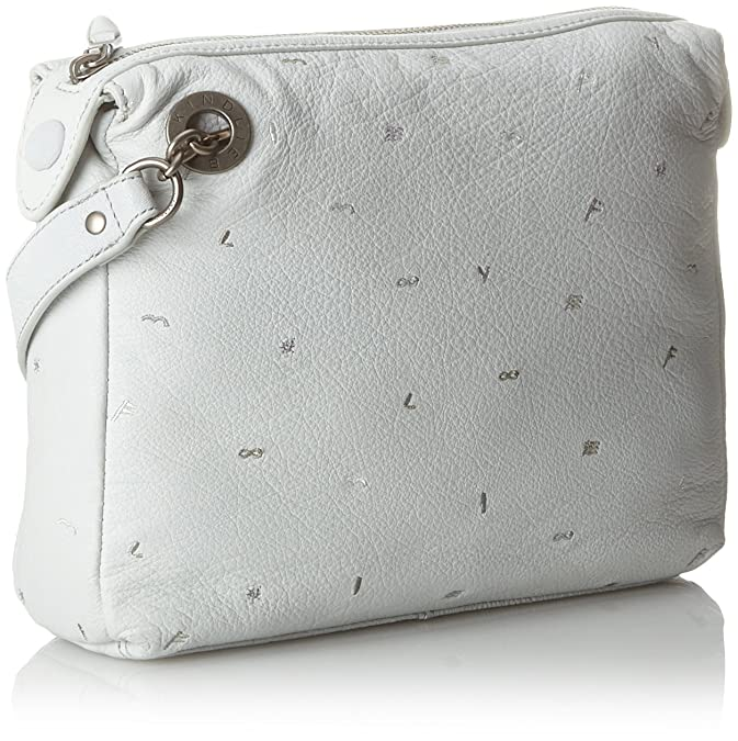 Arielle Mariem, Womens Cross-Body Bag, Multicolour (White), 7x26x20 cm (B x H x T) Liebeskind