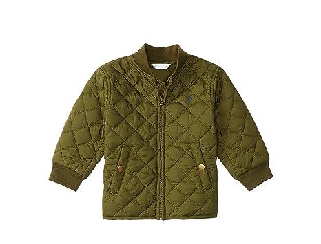 c30b75e02 Amazon.com: Ralph Lauren Baby Boys' Quilted Baseball Jacket: Clothing