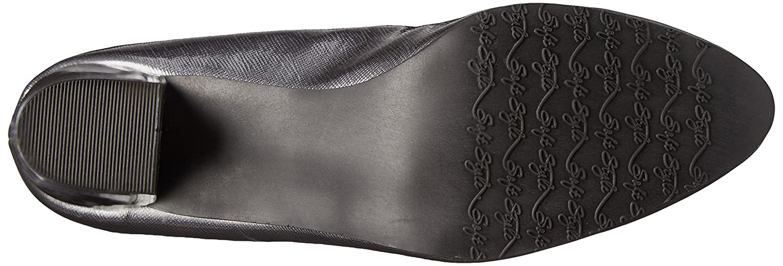 Soft 6 Style Hush Puppies Women's Deanna Dress Pump B00S3Z3ANS 6 Soft W US|Dark Pewter 373274