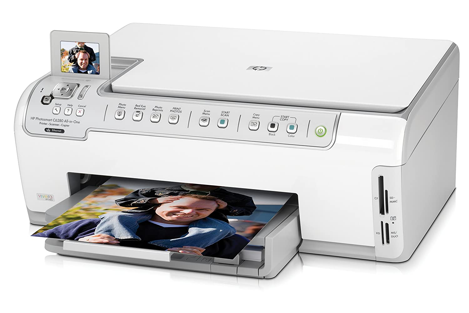 Eco-friendly and economical HP Photosmart 7260 printer 80