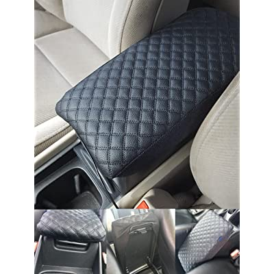 Fit for GMC Terrain 2013 2014 2015 2016 2020 Center Console Lid Armrest Cover Acessories Protector Decoration: Automotive